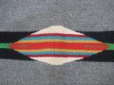 Mexican Saltillo Blanket Chimayo Design circa 1930's - 13 of 16