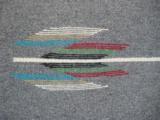 Mexican Saltillo Blanket Chimayo Design circa 1930's - 8 of 16