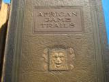 African Game Trails Volume 1 & 2 by Theodore Roosevelt Deluxe Edition circa 1920 - 3 of 9