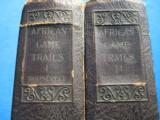 African Game Trails Volume 1 & 2 by Theodore Roosevelt Deluxe Edition circa 1920 - 4 of 9
