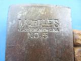 Antique Marbles #5 Safety Axe - 2 of 11