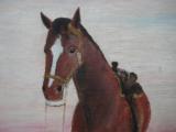 Harry G. Bentz Original Oil Painting Montana Folk Art - 4 of 8