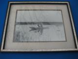 Antique Original Photograph of Duck Hunter with Mason Decoys - 1 of 12