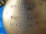 Goodwin & Webster Hartford 3 Gallon Ovoid Crock Jug circa 1820 - 5 of 9