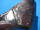 Colt 1860 Army Flap Holster Civilian Rare in Excellent Condition - 6 of 9