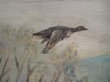 Harry G. Bentz Folk Art Oil Painting Montana