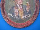 Menks Bottle Beer Tray Circa 1900 Lexington St. Brewery Louisville Ky. RARE - 3 of 8
