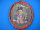 Menks Bottle Beer Tray Circa 1900 Lexington St. Brewery Louisville Ky. RARE - 7 of 8