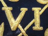 British 16th Lancers Campaign Banner Circa 1936 RARE - 8 of 12