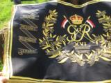 British 16th Lancers Campaign Banner Circa 1936 RARE - 5 of 12