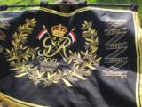 British 16th Lancers Campaign Banner Circa 1936 RARE - 6 of 12