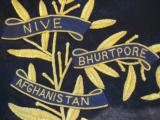 British 16th Lancers Campaign Banner Circa 1936 RARE - 10 of 12