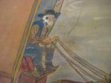 Conestoga Wagon Folk Art Oil Painting Circa 1920 Richmond Va. Artist - 6 of 7