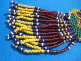 Northern Plains Sioux Beaded Choker Circa 1890's - 10 of 10