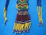 Northern Plains Sioux Beaded Choker Circa 1890's - 5 of 10