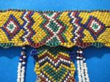 Northern Plains Sioux Beaded Choker Circa 1890's - 4 of 10