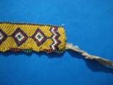 Northern Plains Sioux Beaded Choker Circa 1890's - 3 of 10