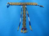 Northern Plains Sioux Beaded Choker Circa 1890's - 1 of 10