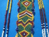Northern Plains Sioux Beaded Choker Circa 1890's - 7 of 10