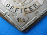Massachusetts Deputy Conservation Officer Badge Rare - 5 of 6