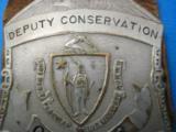 Massachusetts Deputy Conservation Officer Badge Rare - 4 of 6