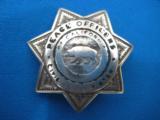 California Peace Officer's Civil Service Assoc. Badge Sterling Rare Maker Entenmann - 2 of 6