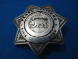 California Peace Officer's Civil Service Assoc. Badge Sterling Rare Maker Entenmann - 6 of 6