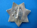California Peace Officer's Civil Service Assoc. Badge Sterling Rare Maker Entenmann - 3 of 6