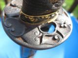 17th Century Japanese Samurai Wakazashi Sword w/Original Mounts - 9 of 25