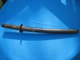 17th Century Japanese Samurai Wakazashi Sword w/Original Mounts - 1 of 25