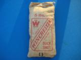 Winchester 5 Lb. Bag Buckshot Unopened Sealed & Full Circa 1930's Rare