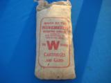 Winchester 5 Lb. Bag Buckshot Unopened Sealed & Full Circa 1930's Rare - 5 of 7