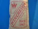 Winchester 5 Lb. Bag Buckshot Unopened Sealed & Full Circa 1930's Rare - 2 of 7