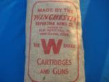 Winchester 5 Lb. Bag Buckshot Unopened Sealed & Full Circa 1930's Rare - 6 of 7