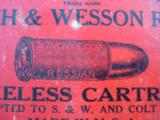 Winchester Smith & Wesson 44 Russian 2 Pc. Cartridge Box Full - 2 of 7