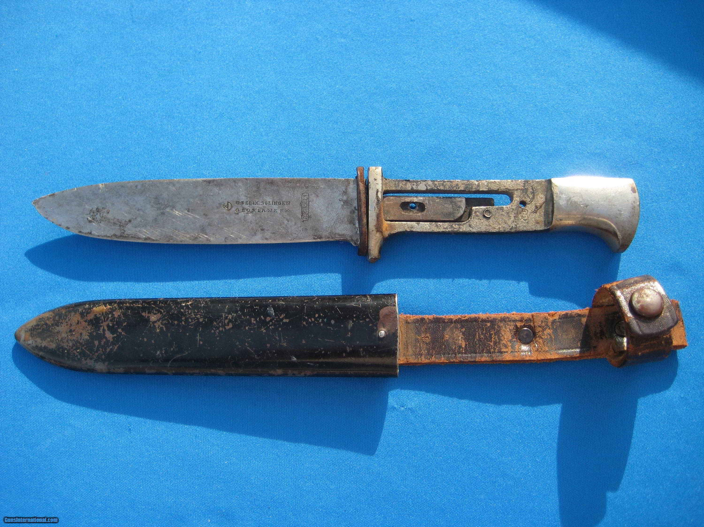 German WW2 Nazi Hitler Youth Knife w/Scabbard G. Felix ...