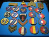 U.S. WW2 Army Division Patches