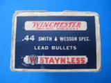 Winchester Staynless 44 S&W Special Cartridge Box - 3 of 9