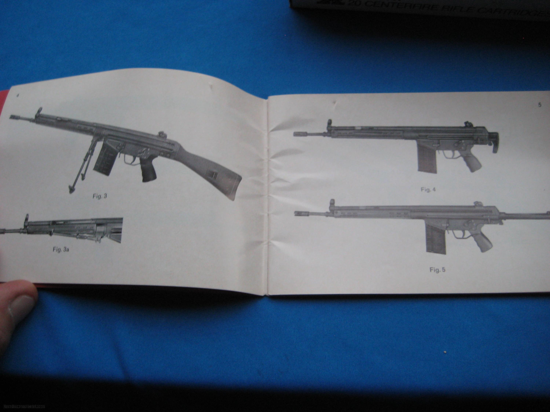 Hk Original G3 Manual Circa 1970 Parts Diagram Further Kimber 1911 Exploded View Gsg 9 Of
