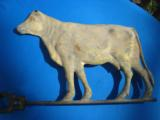 Gilded Cow Weathervane Circa 1870 Washburne Fiske