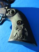 """Colt SAA Revolver 3rd Gen. 44 Special Blue 7 1/2 """" Barrel Circa 1979 - 4 of 13"""