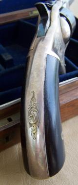 Cased George Webb English Revolver - 10 of 19
