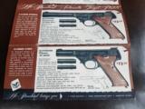 Hi-Standard Pistol Foldout 1950's - 4 of 8