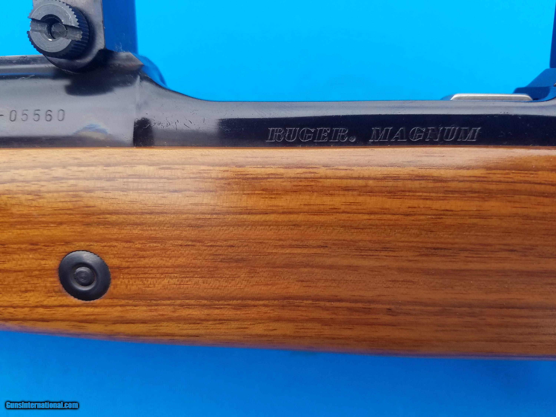 Ruger 77 Safari Magnum Rifle 458 Lott w/Rings & Muzzle Brake