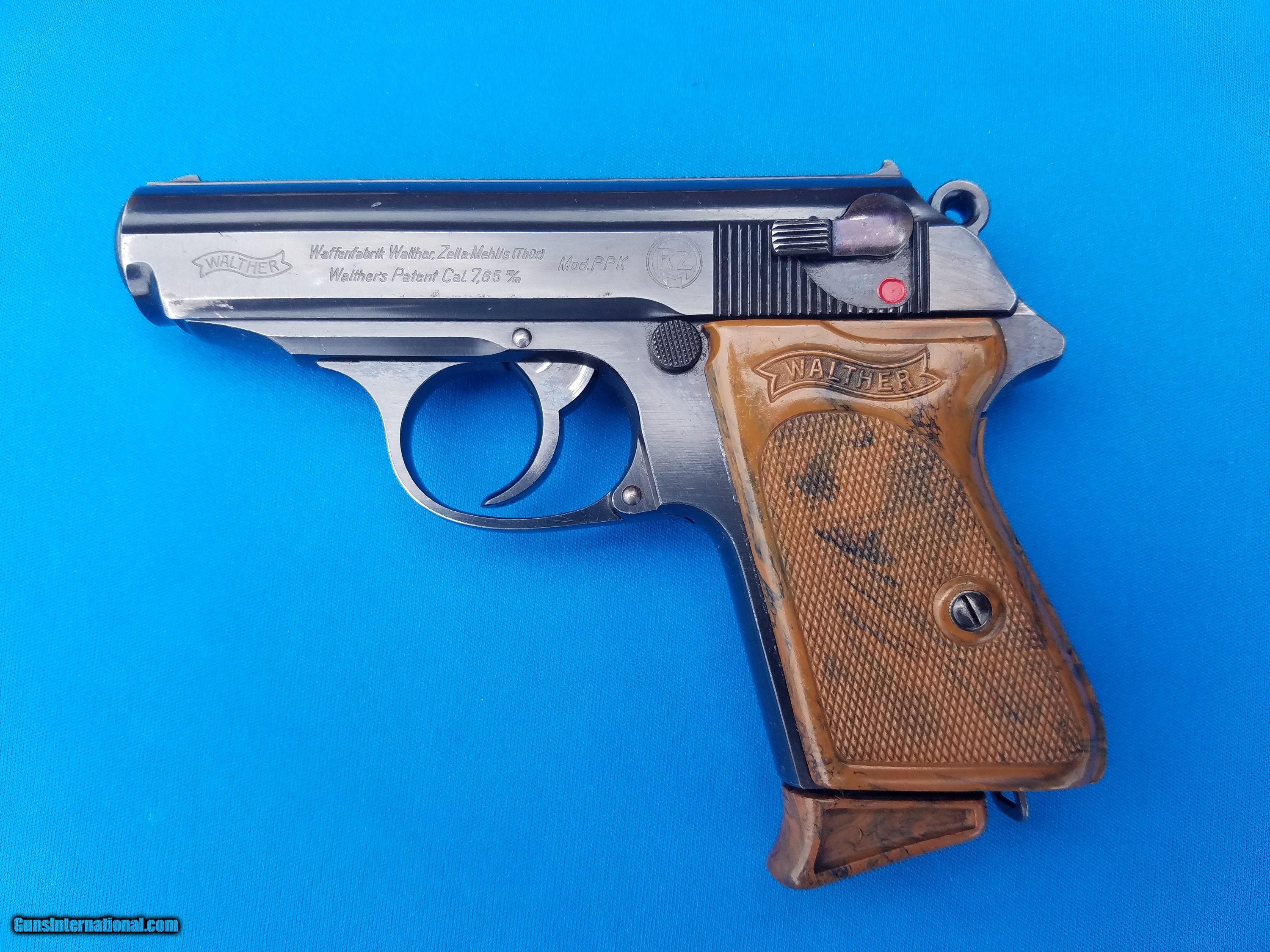 Walther PPK 1st Contract RZM circa 1935 7 65mm