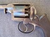 Cased Adams Patent European Percussion Revolver - 7 of 20