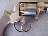 Cased Adams Patent European Percussion Revolver - 6 of 20