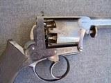 Cased Adams Patent European Percussion Revolver - 5 of 20