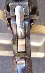 Cased Adams Patent European Percussion Revolver - 8 of 20