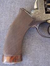 Cased Adams Patent European Percussion Revolver - 13 of 20